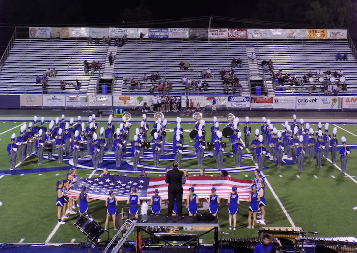 """Sapulpa High School """"Changes Direction"""" with Band Program"""