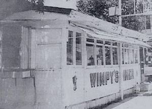 Wimpy's Diner from the outside.