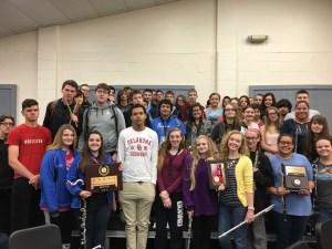 2016 Symphonic OSSAA Sweeps Team