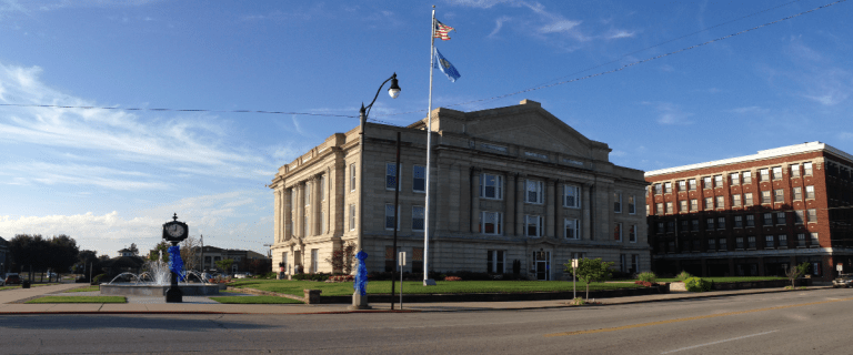 County Commissioners lock down Courthouse, will require masks and temperature checks