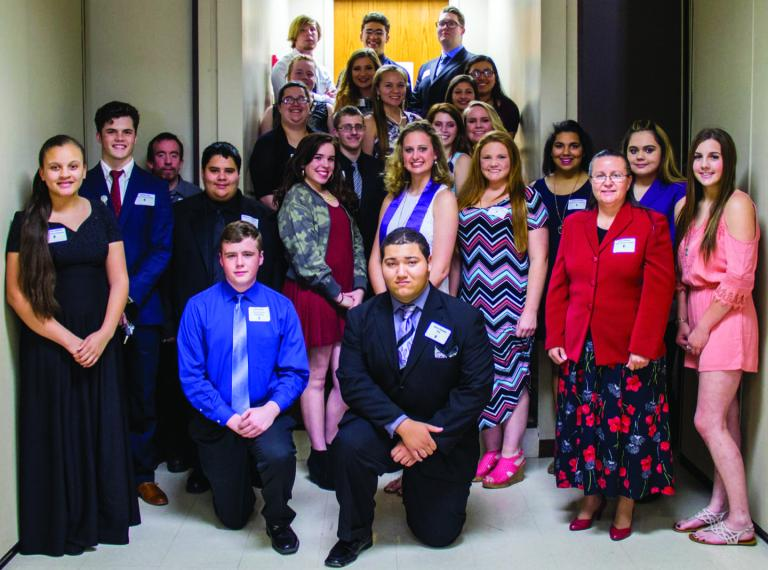 Central Tech Students Inducted into National Technical Honor Society