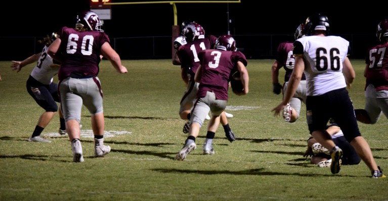 Kellyville loses to Morris in a heartbreaking 41-37 home game