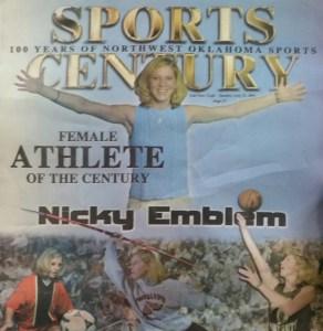 Nicky Emblem, Athlete of the Century