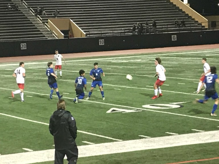 Sapulpa Boys Soccer start the season off strong with a shutout against Ponca City