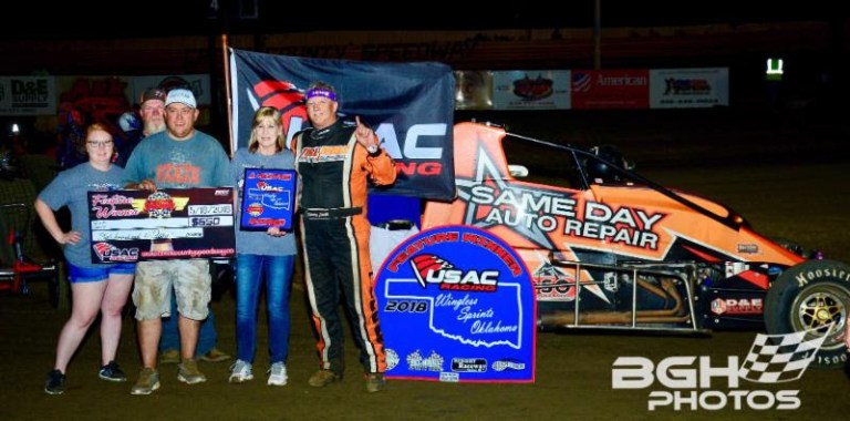 Hafertepe, York, and Smith Put On A Show At Creek County Speedway