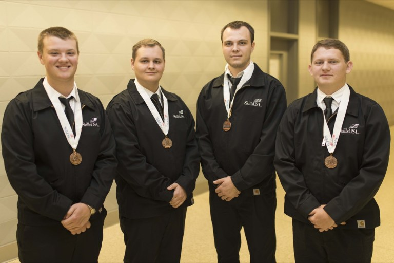 Central Tech students earn nearly two dozen SkillsUSA honors