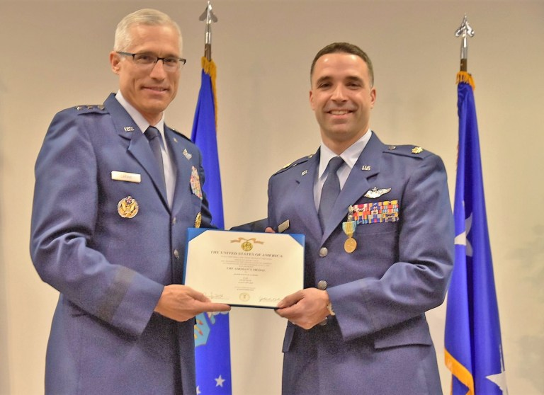 Kellyville graduate receives the highest honor in non-combat