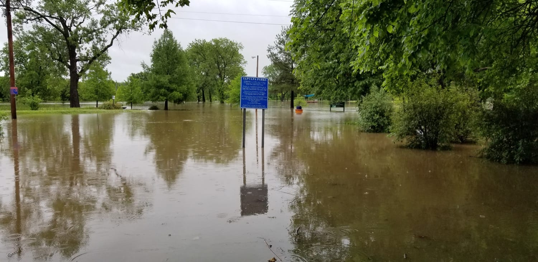 entrance of Kelly Lane Park 5-21