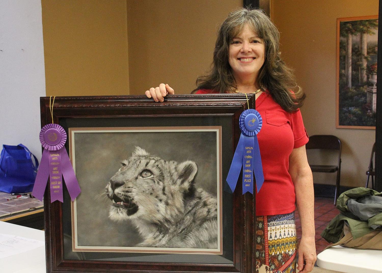 Best of Show – Alice Hurlbert, Portrait of a Snow Leopard