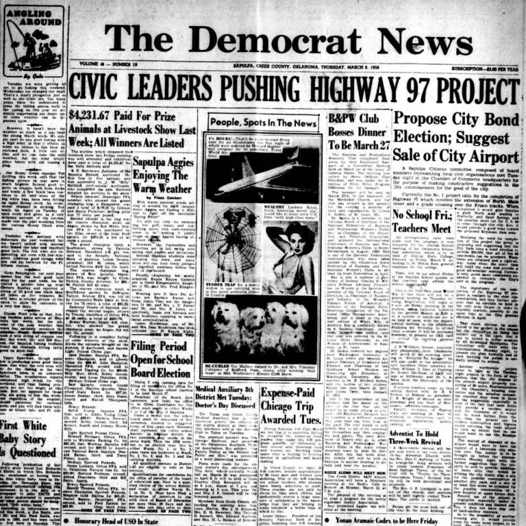 Historic Sapulpa newspapers are now available online