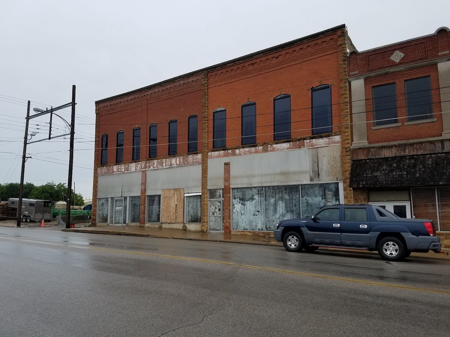 The Tyler building is Sapulpa's oldest surviving building and has been out of commission for years.