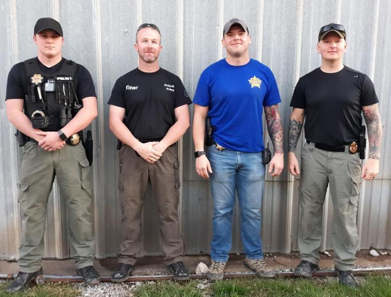 Meet the K-9 Teams that Serve Creek County