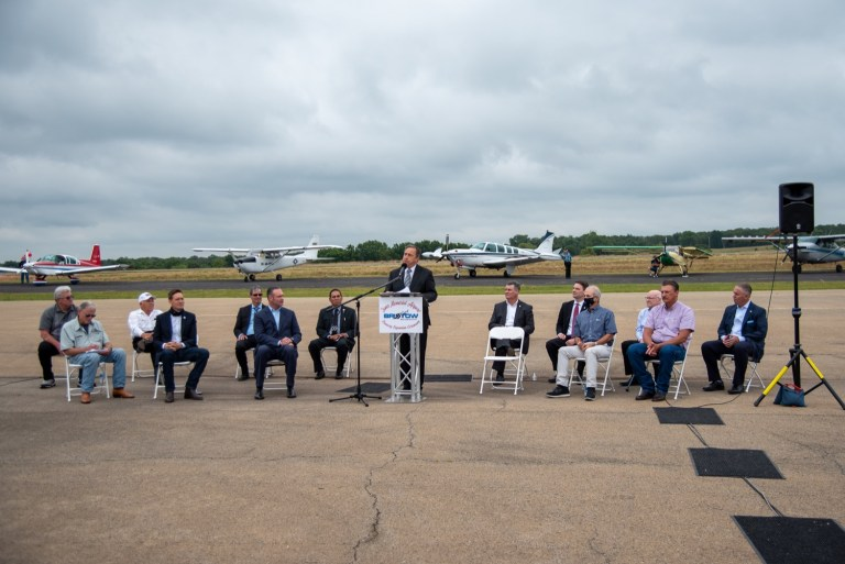 """""""Oklahoma is Open for Business:"""" New Bristow airport expansion sets sky-high expectations for area"""