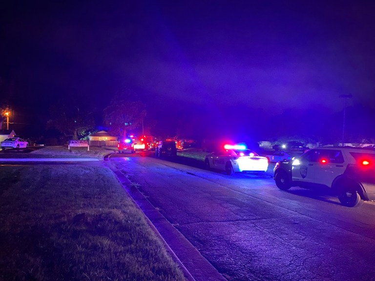 Four-hour police standoff ends peacefully with suspect's arrest
