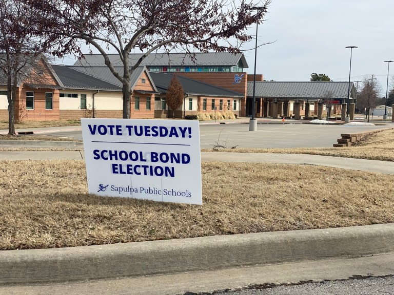 Sapulpa voters to decide $1.6 million School Bond issue