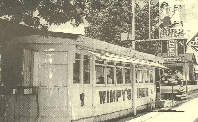 Do you remember Wimpy's Diner?