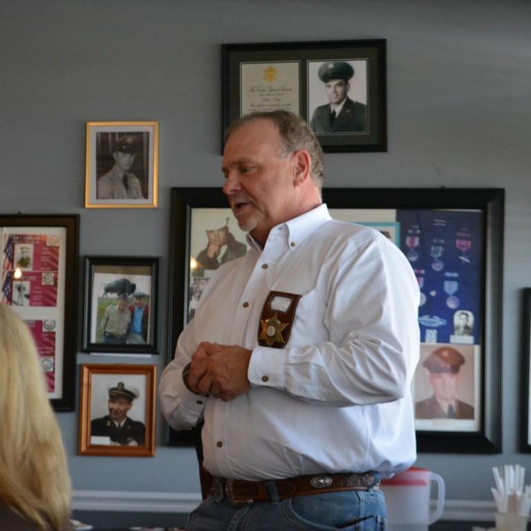 Sheriff Bowling addresses Lions Club
