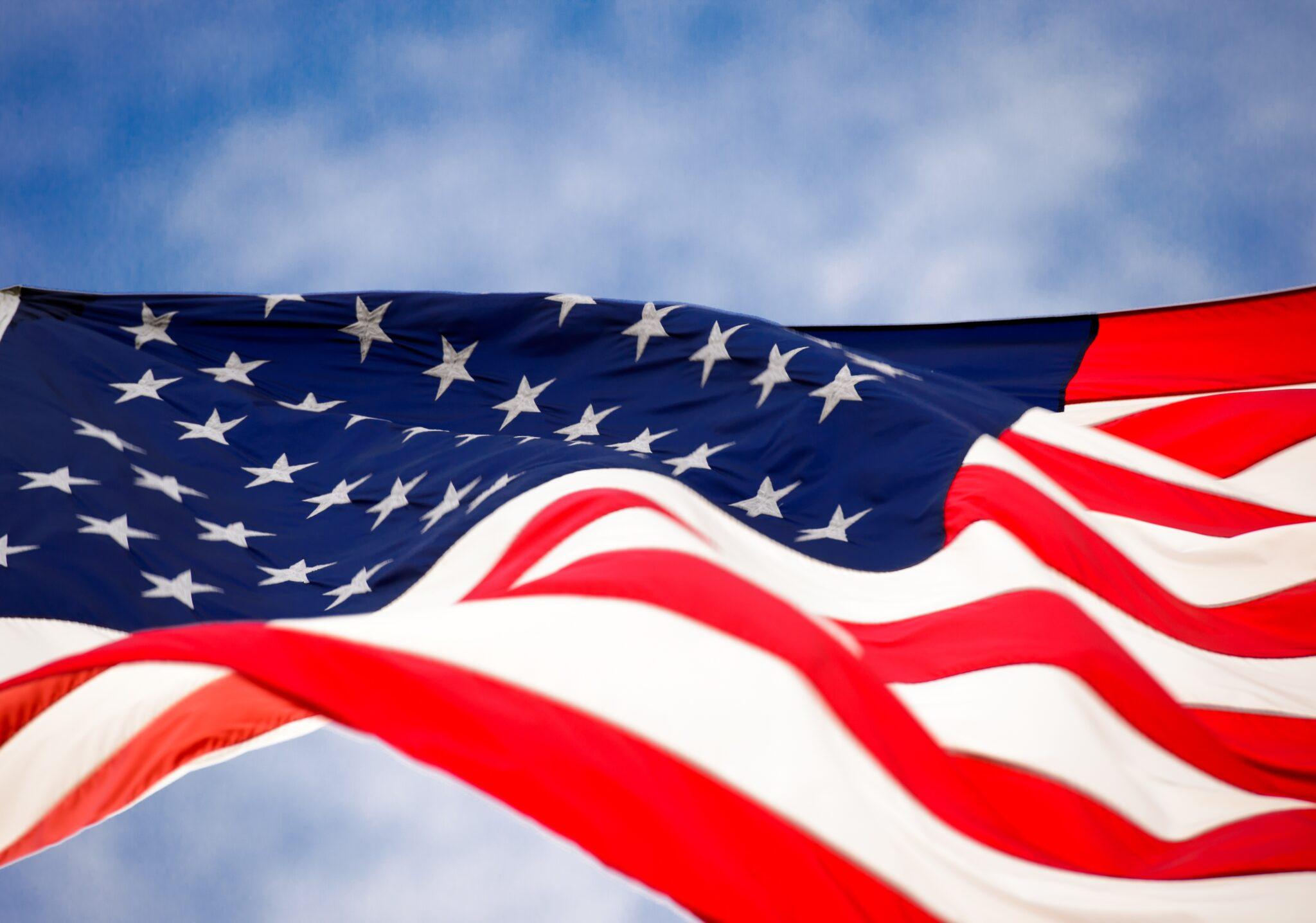 flag, america, usa