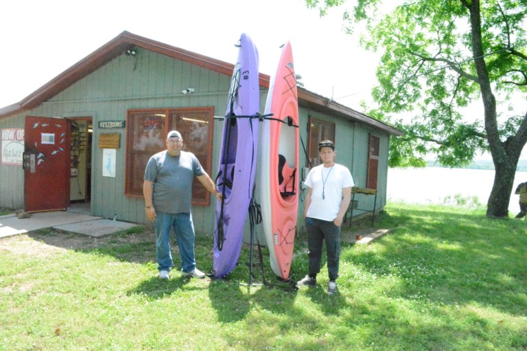 Kayaks now available for rental at Sahoma Lake