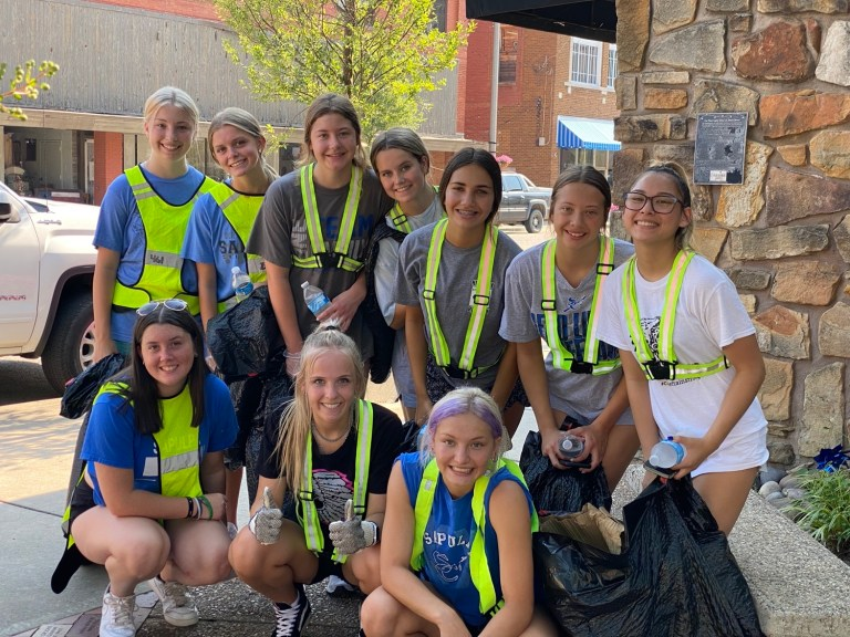 PHOTOS: Inaugural Chieftain Cleanup Day a great success