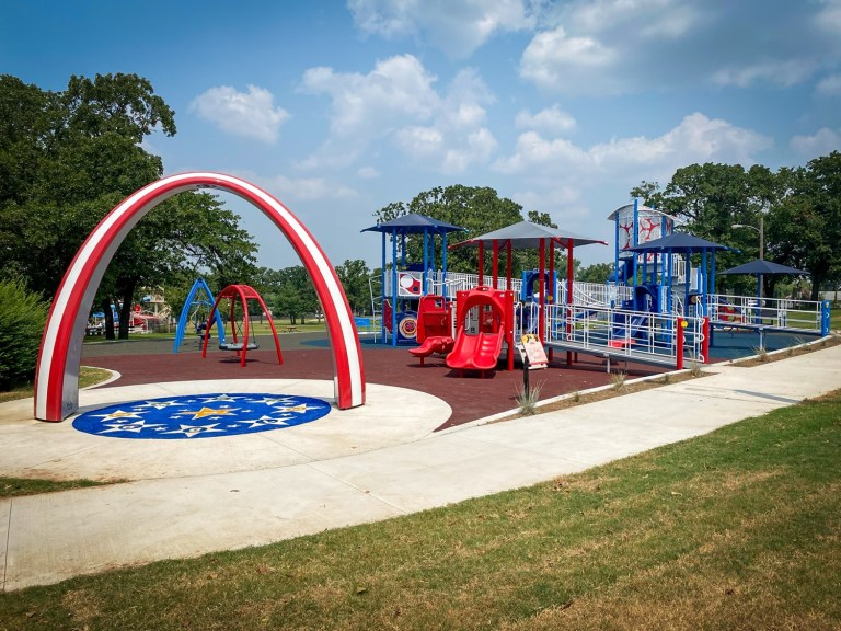 Sapulpa Parks planning grand opening for new inclusive playground