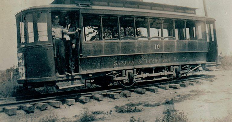 Sapulpa History: The Sapulpa and Interurban Trolley Line