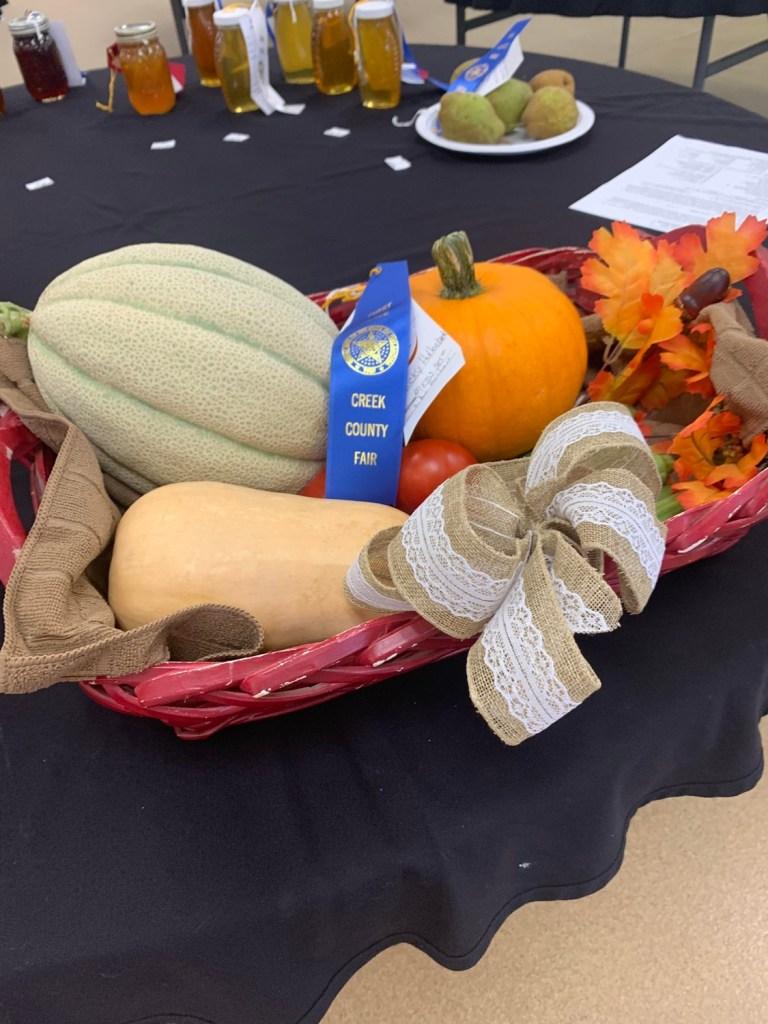 Creek County Fair: 2021 Flower Show Results