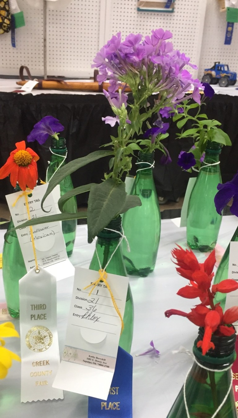 Show your favorite plants and flowers at the 2021 Creek County Fair