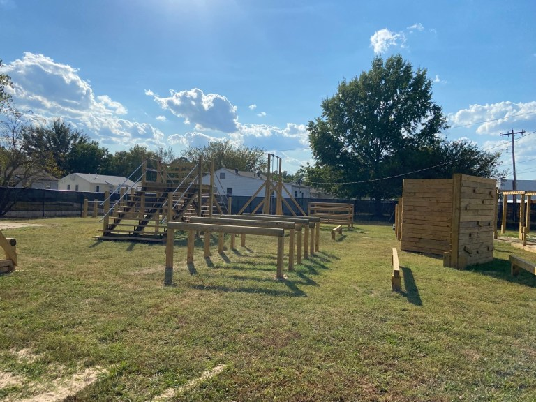 Central Tech builds new, state-of-the-art police training obstacle course at Sapulpa campus