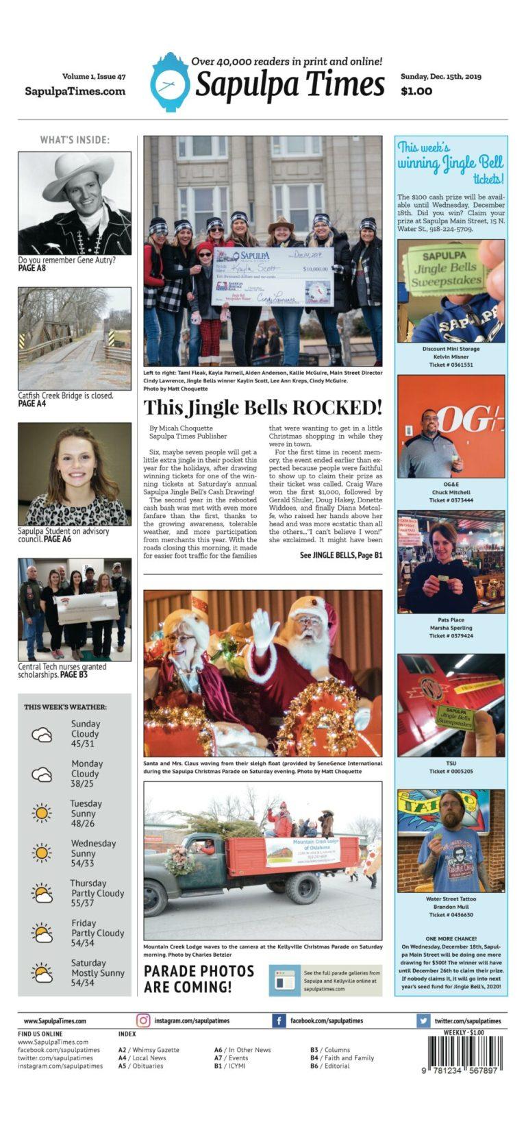 Sapulpa Times Digital Edition 12/15/2019