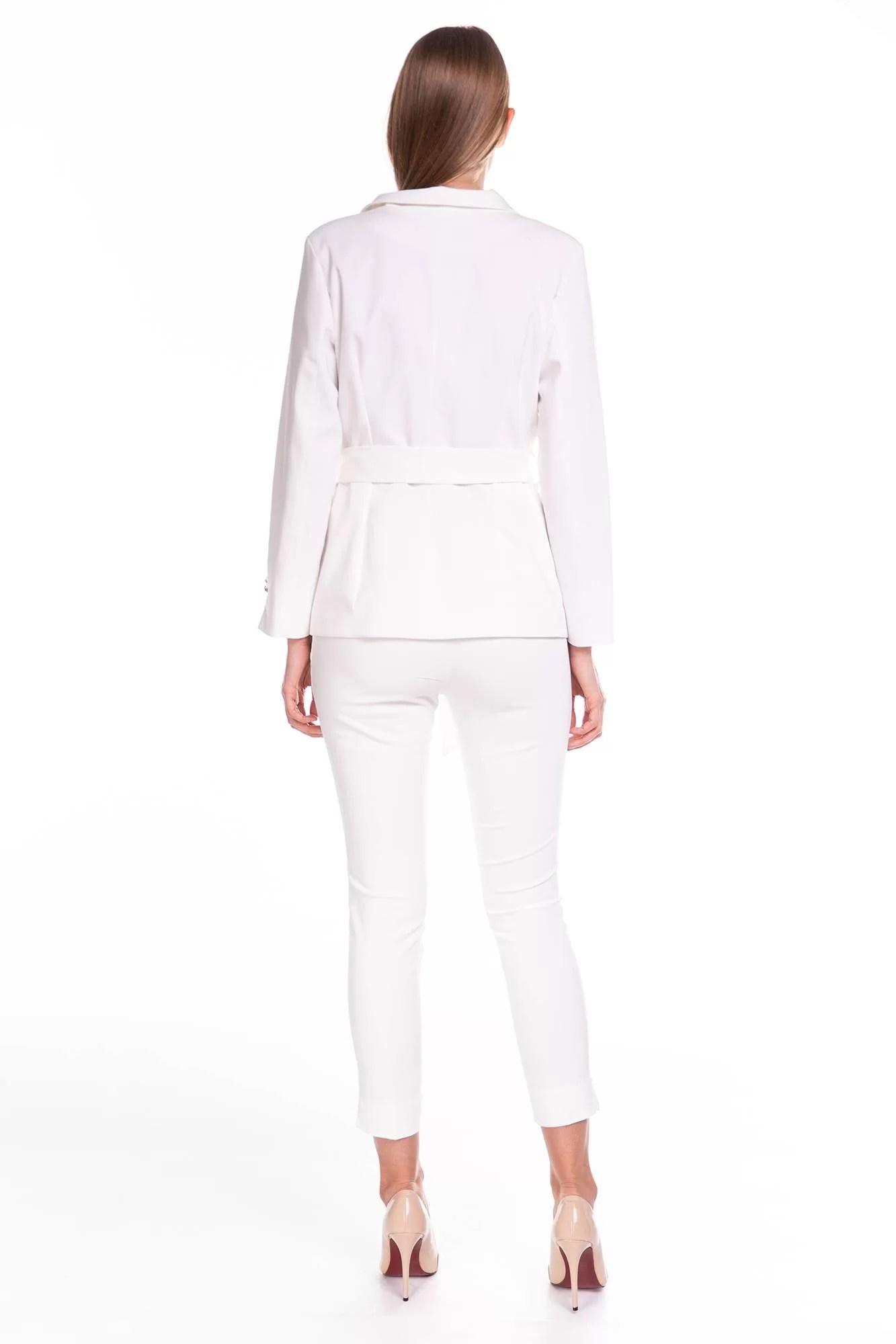 Komplet Glamour Biały