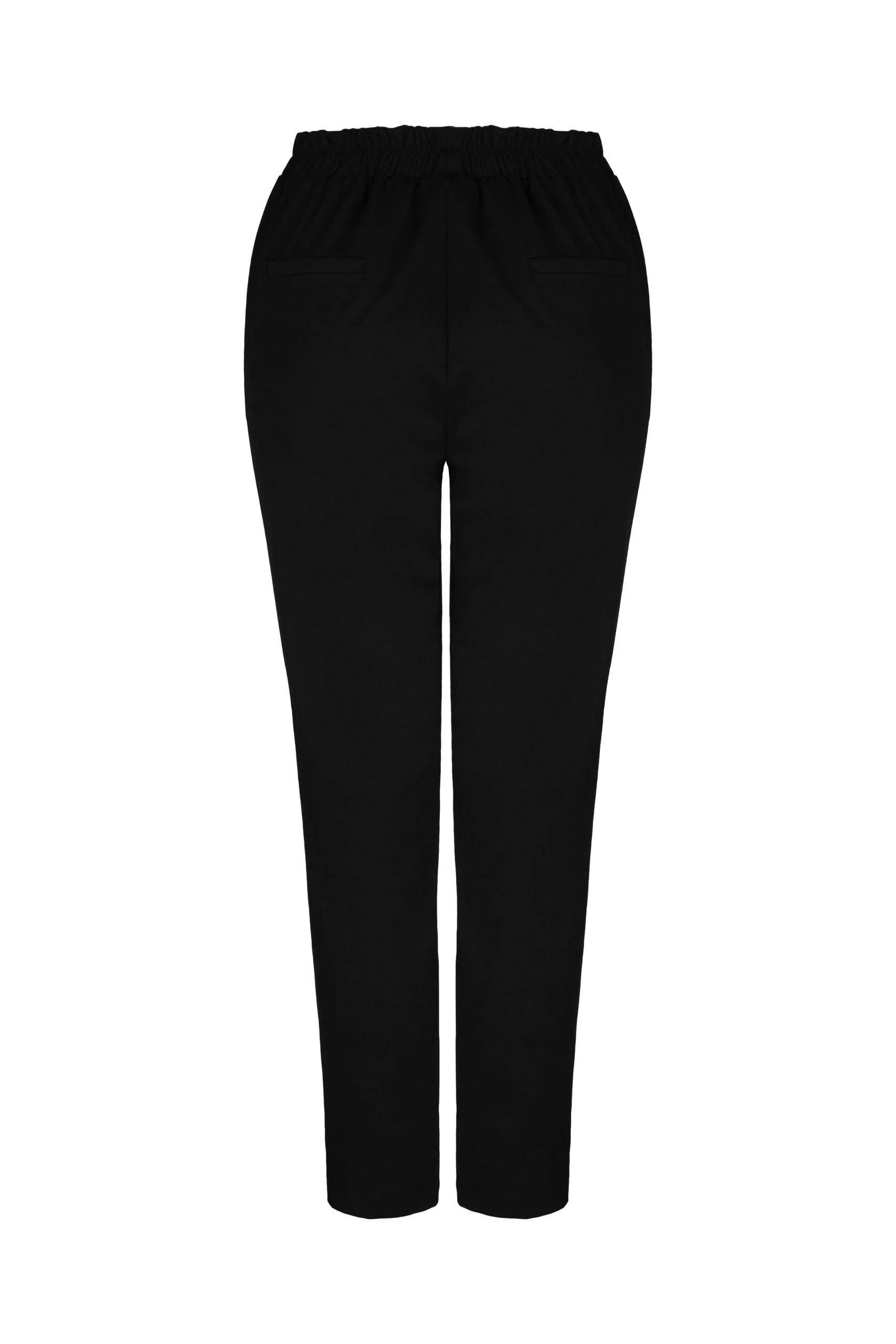 Spodnie Palermo Czarne grube (600g/mb)