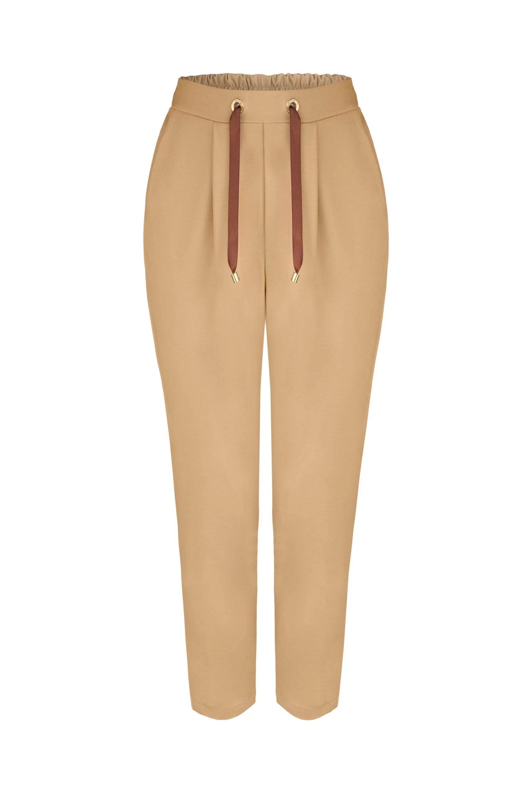 Spodnie Palermo Beżowe 36-50