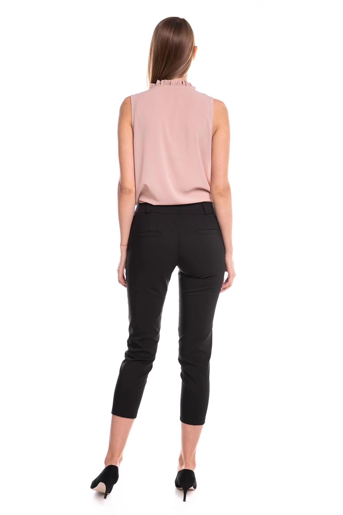 Spodnie Capri Czarne