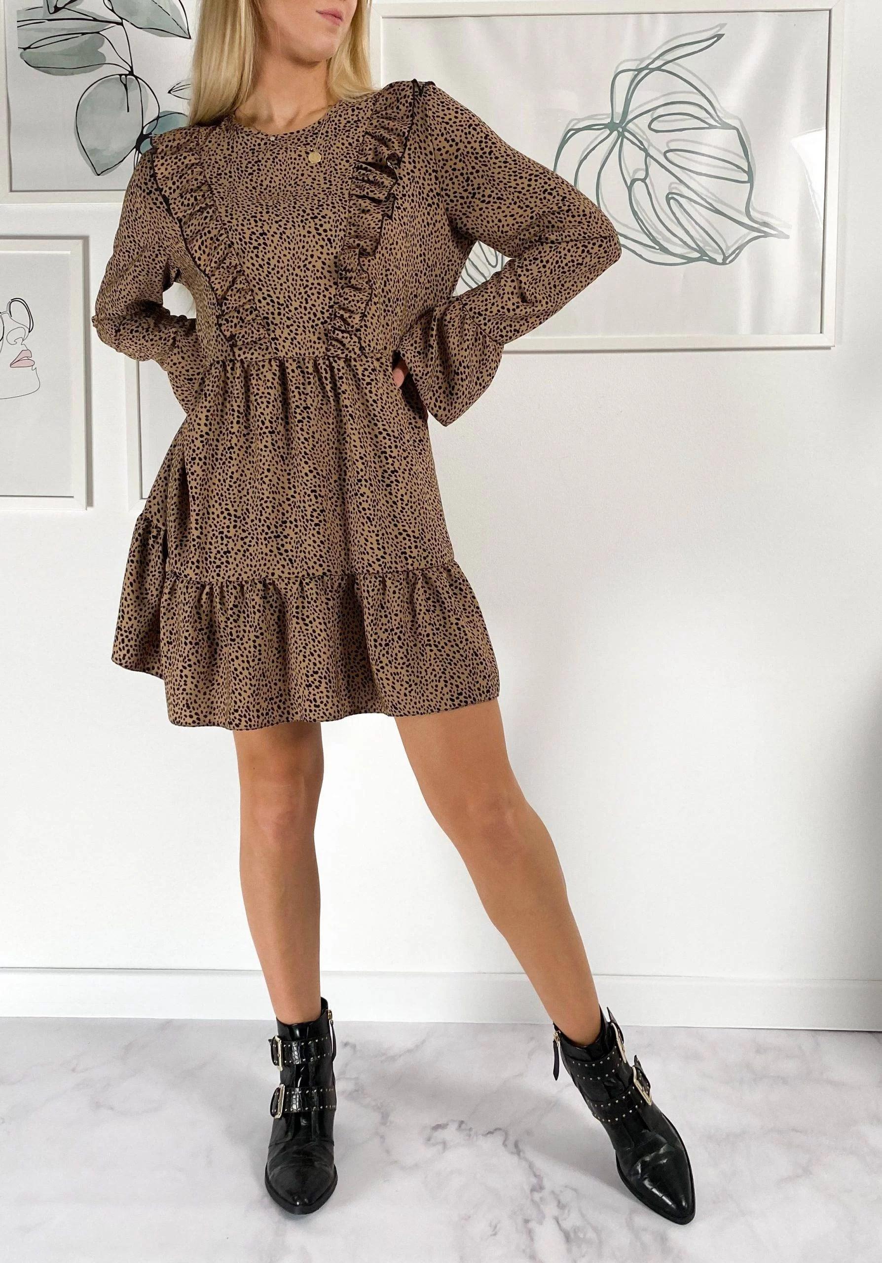 Sukienka Bocca Brown