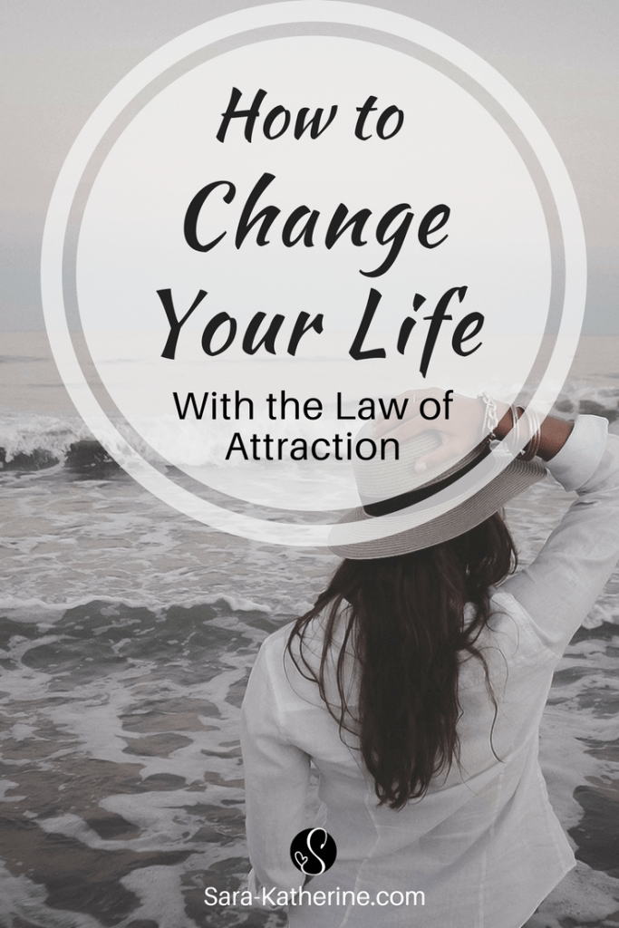 How to change your life with the law of attraction. Manifest your biggest dreams and turn them into a reality in three simple steps! Plus, I give examples about how the law of attraction has worked in my life, before I even knew what it was!