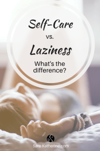 What's the difference between self-care and laziness? There's a fine line between taking a mental health break, and simply being lazy. I break down the differences between the two so you can help recognize your patterns and see if there's anything you need to change in your self-care routine!