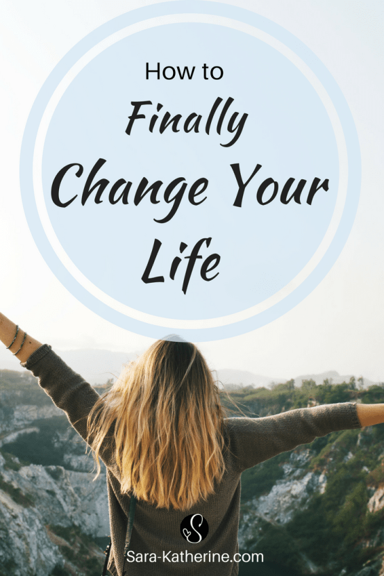 This is how you will finally change your life. Feeling stuck? Unsure what to do next? See yourself repeating the same bad habits and patterns? This blog post explains exactly what's missing and what you need to change in order to finally change your life.