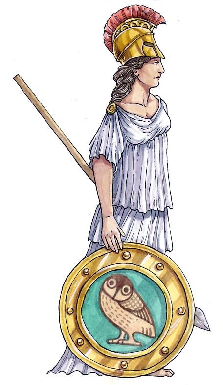 Sara Ottersttter  Art  Illustration  Roman Gods