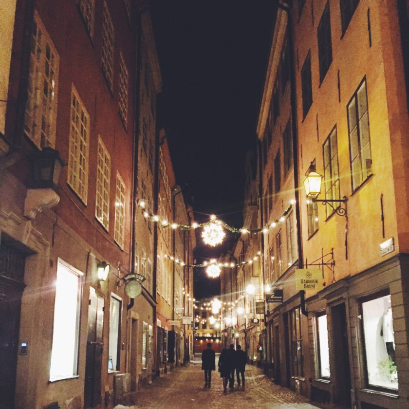 gamla stan natt
