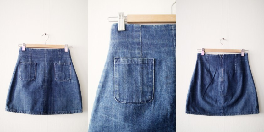 1 – jeanskjol från monki