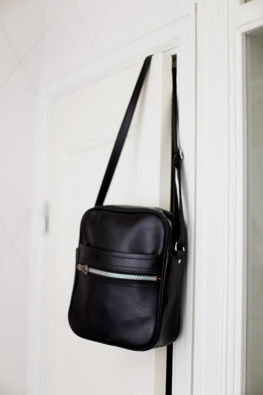 i min nya väska
