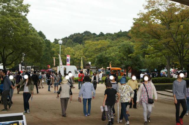 松戸モリヒロフェスタに行ってきた時の様子(2016年11月)
