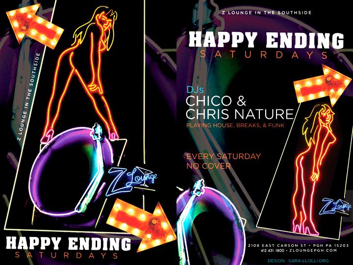 Happy Ending Saturdays