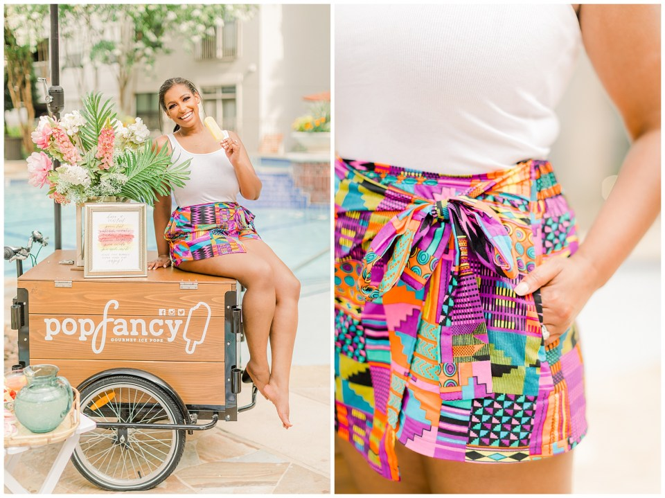 styled party with chic home style shorts diyanu