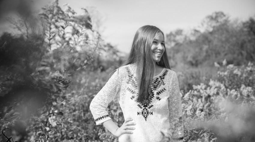 Rockford, Illinois Byron High School Senior Portrait photography, Rock Cut State Park | Sara Anne Johnson
