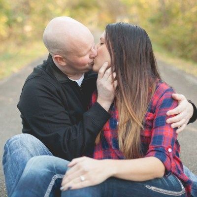 Courtney + Michael | Rockford, Illinois Engagement Photographer