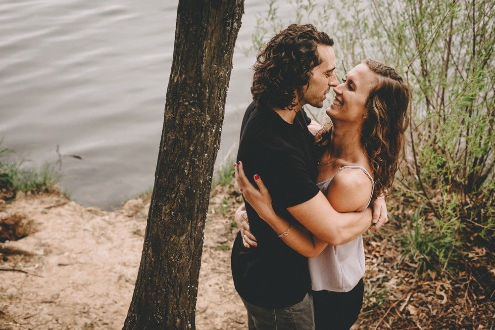 Rock Cut State Park summer engagement session - photography by Sara Anne Johnson