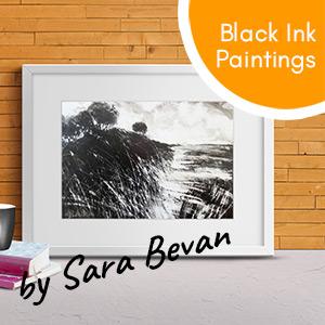 Black Ink Paintings