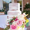 Wedding Cake by Lake Tahoe Wedding Photographer